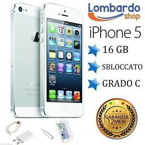 a apple iphone 5 16 gb blanco puede c texto original en recuperado