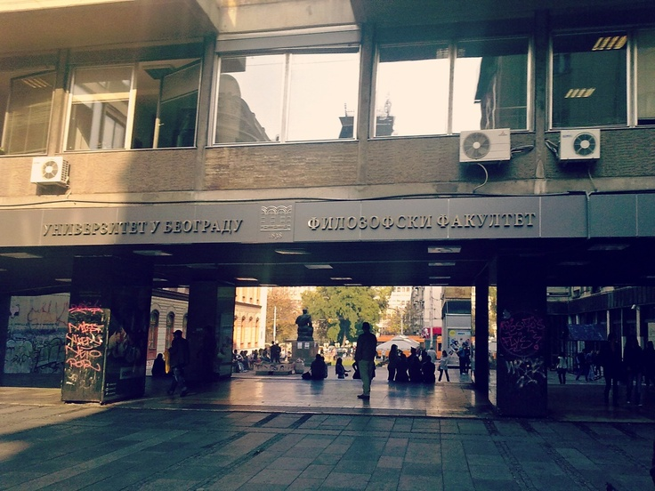 Faculty of Philosophy    University of Belgrade