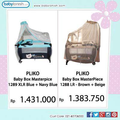 Bingung mencari baby box untuk bayi Anda? Ini dia Pliko Masterpiece dengan ukuran L dan XL. Gratis ongkir Jabodetabek.  www.babylonish.com