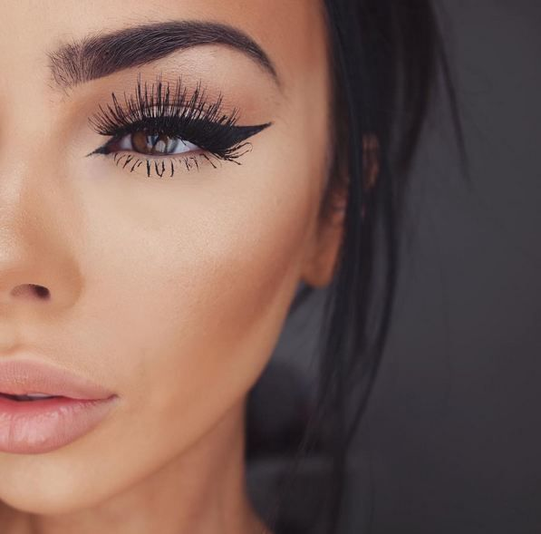 Eyeliner on the fleek. #cateyes #eyeliner