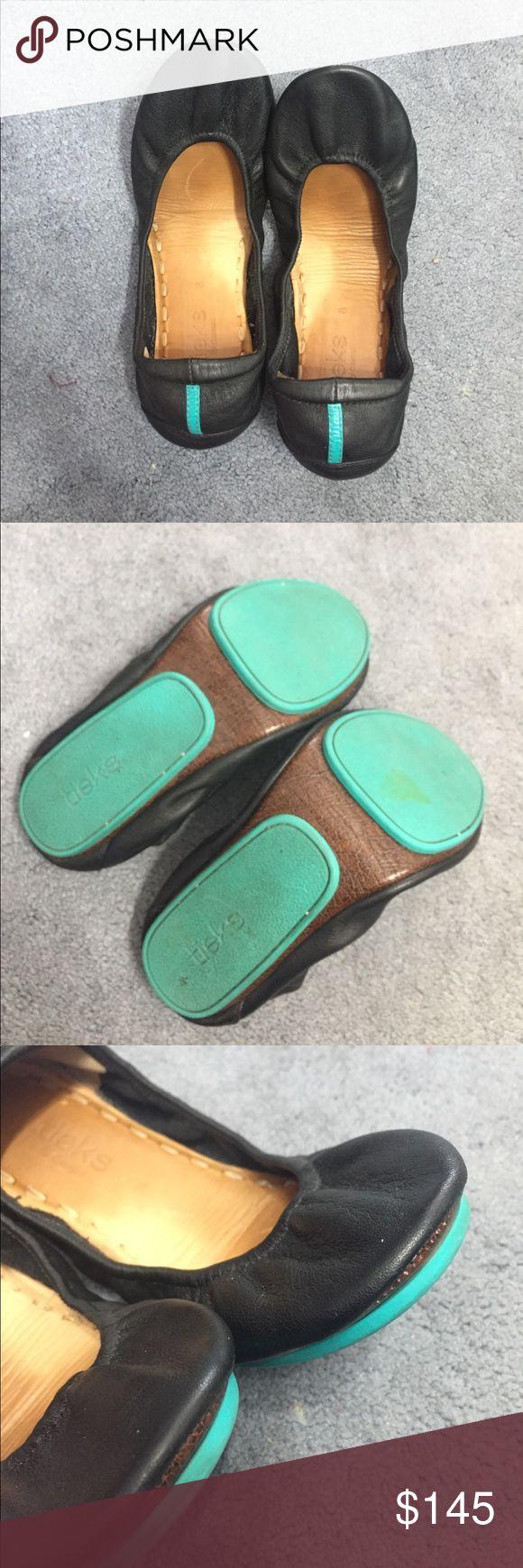 FINAL SALE✨Tieks WITH bags! Very lightly worn Tieks with storage bag and tote. Tieks Shoes Flats & Loafers