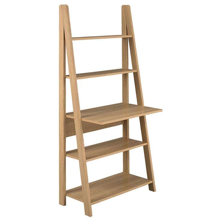 Ladder Desk, Oak Ladder Desk, Oak