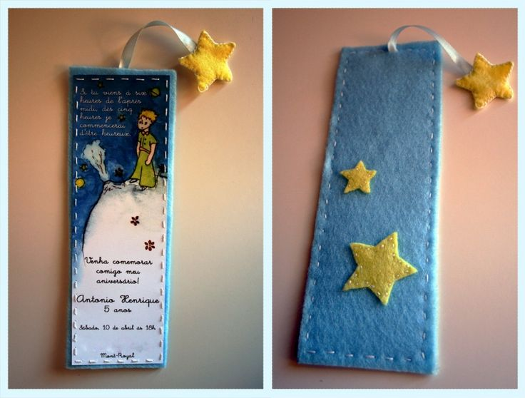Great idea for Petit Prince party invites.