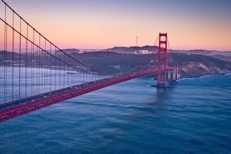 The golden gate #california    bridges bridges bridges: San Francisco California, Gates California, Favorite Places, California Bridges, San Francisco Bays, Golden Gates Bridges, Bridges Bridges, Sanfran, Bridges California
