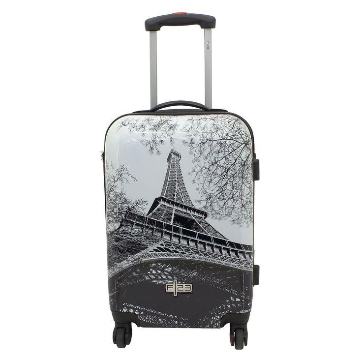 Handgepäck F23 Metropol Paris bei Koffermarkt: ✓Hartschalen-Koffer mit Eiffelturm-Motiv ✓4 Rollen ✓Integriertes Zahlenschloss ⇒Jetzt kaufen