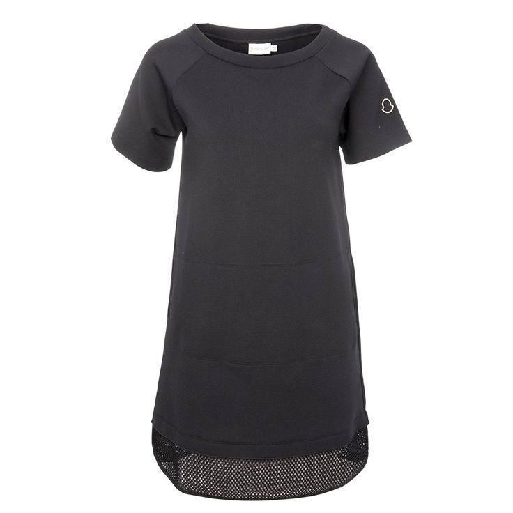 Moncler Kleid in Schwarz