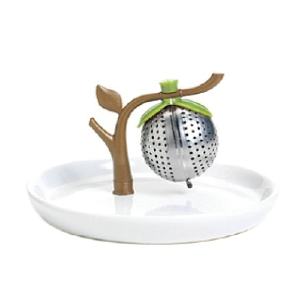 I'm learning all about Chef'n TeaTree Tea Infuser and Saucer, white, 1 ea at @Influenster!