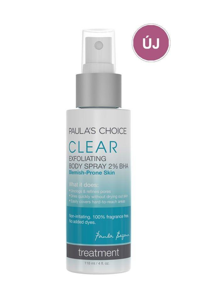 Clear Acne Body Spray with 2% Salicylic Acid