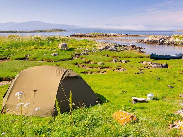 Wild camping in Sweden and Norway