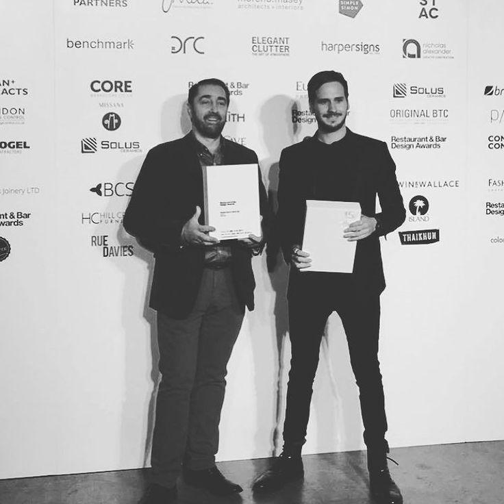 Fuck yeah- best bar design (middle east and Africa) 2016  @restaurantandbardesign awards in London