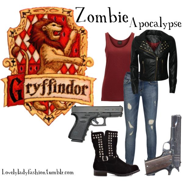 """Zombie Apocalypse"" by nearlysamantha on Polyvore"