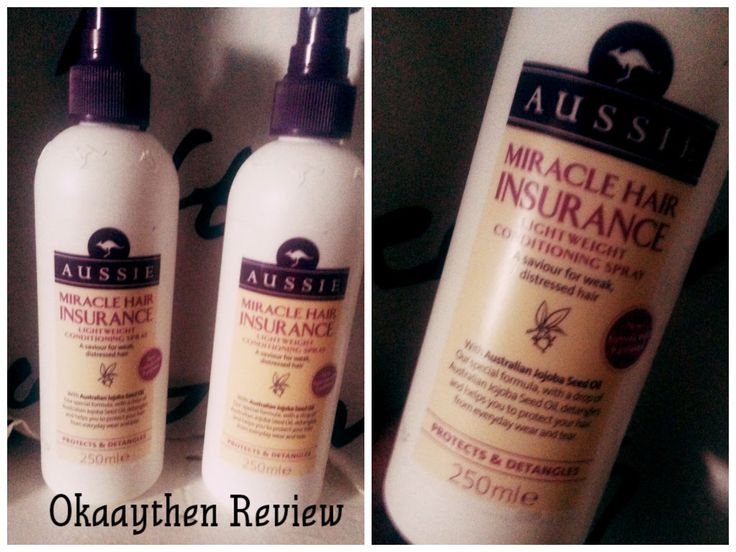 Aussie's Miracle Insurance Conditioner Spray Review