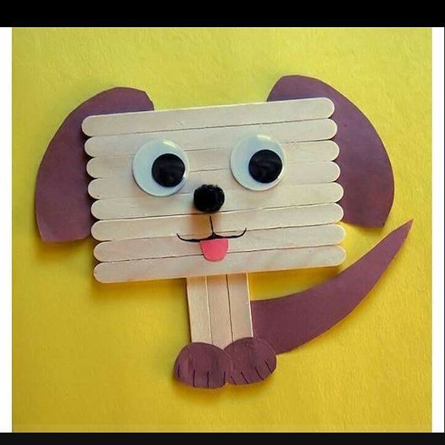 Pop stick craft for kids   funnycrafts