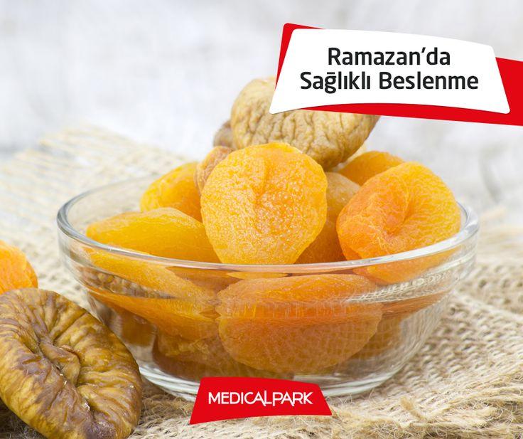 İftardan hemen sonra aşırı tatlı isteği olursa birkaç tane kuru incir veya kuru kayısı ile bu isteği bastırabilirsiniz. http://www.medicalpark.com.tr/ramazanda-saglikli-beslenme-onerileri  #beslenme #iftar #Ramazan #tatlı