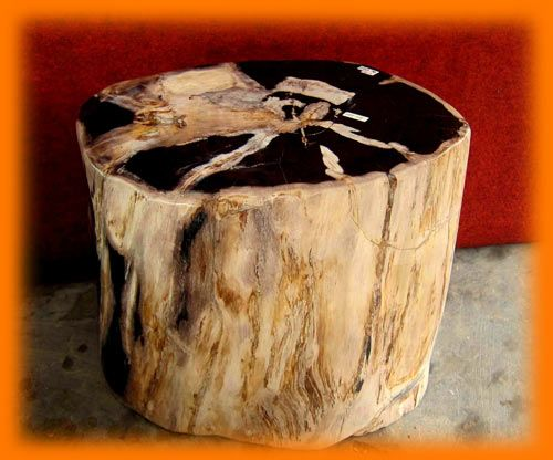 IndoGemstone Petrified Wood Stools