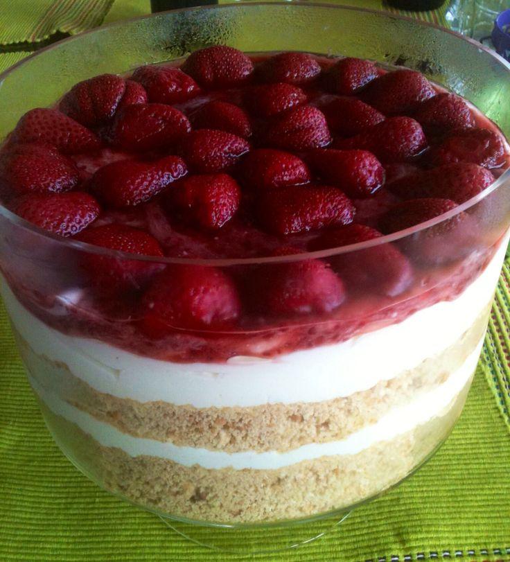 Strawberry Cheesecake #dodigourmet #dessert #cheesecake
