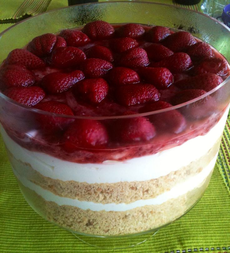 Strawberry Cheesecake #dodigourmet #dessert #cheesecake