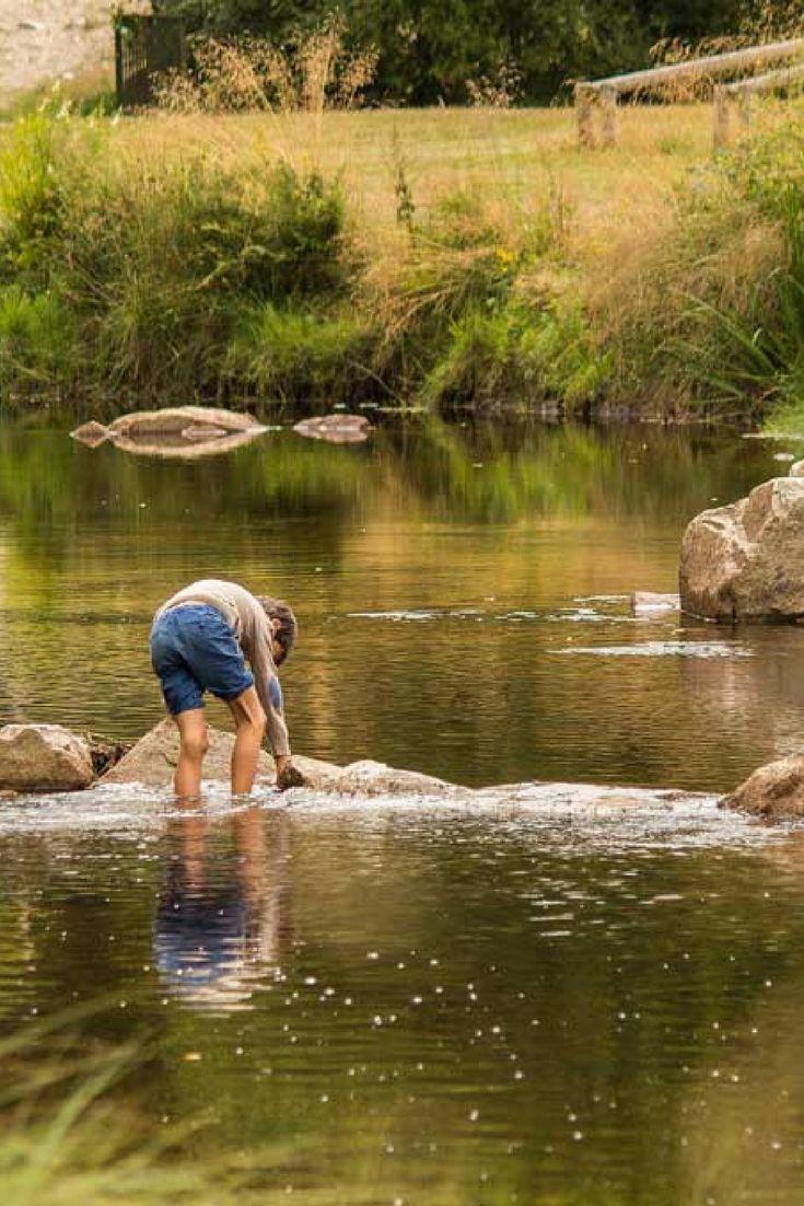 Camping aan een rivier in de Corrèze, Frankrijk: Aux Portes des Mille Sources