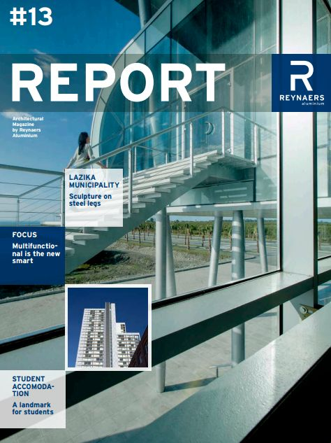 Edition #13 - This edition of Report Magazine features the Lazika Municipality, a sculpture on steel legs and a landmark for student accomodation.