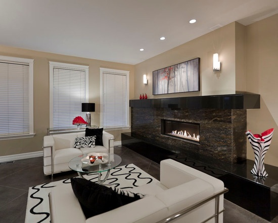 contemporary fireplace design pictures remodel decor and ideas page 39 - Modern Fireplace Design Ideas