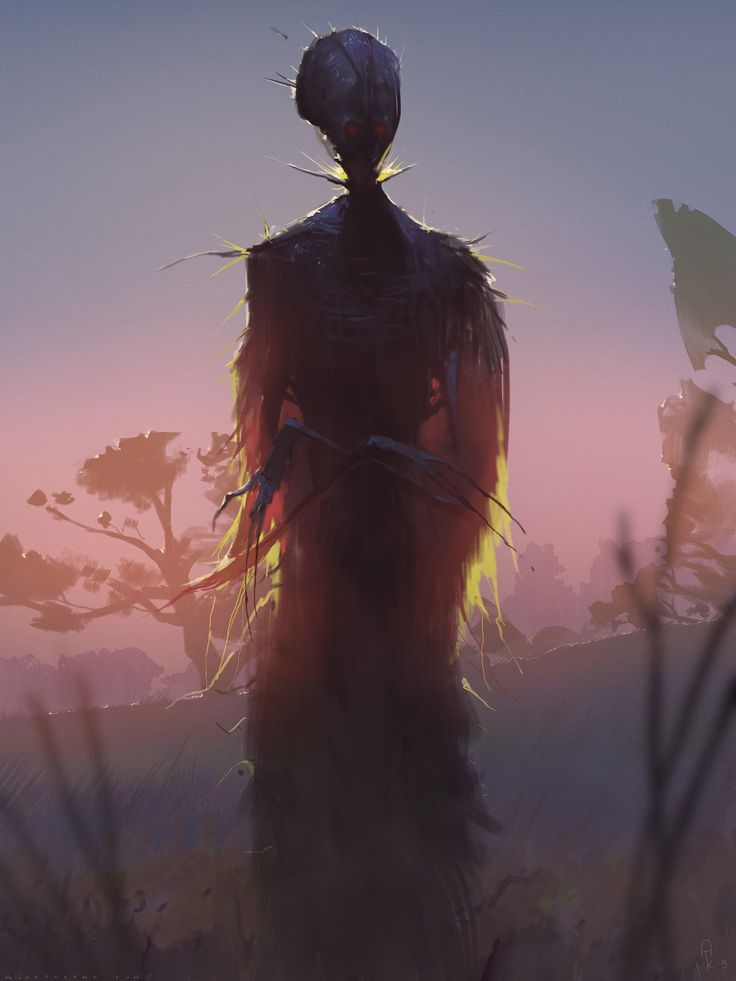Hell of a Story - The Grass Man, Alex Konstad on ArtStation at https://www.artstation.com/artwork/3w2rJ