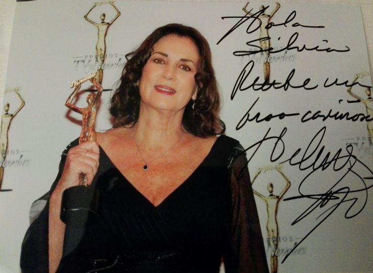 Precioso Autográfo de Helena