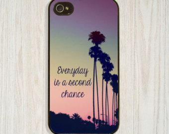 Inspirational Quote, Custom, iPhone 5 5s 5c, iPhone 4 4s Encourage Cellphone Cases, Samsung Galaxy s4 s5 Case, Palm Tree Cell Cover