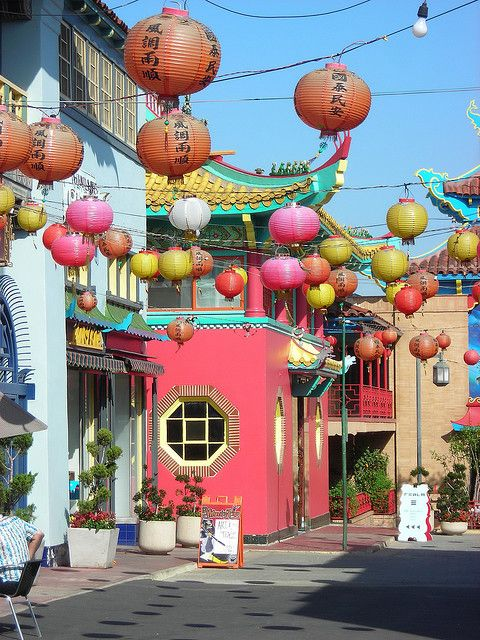 Chinatown - Los Angeles.  This is such a fun, colorful neighborhood for photos.