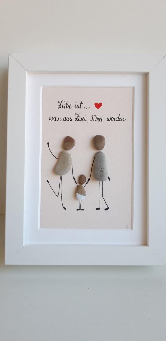 Liebe ist… Steinbild