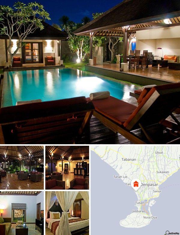 Occupant une situation stratégique au cœur de Seminyak, à quelques pas seulement de plusieurs restaurants, établissements nocturnes et boutiques branchées, la propriété est à quelques minutes des plages de sable blanc pour lesquelles l'île de Bali est réputée.  L'aéroport international de Ngurah Rai est à 18 km environ.