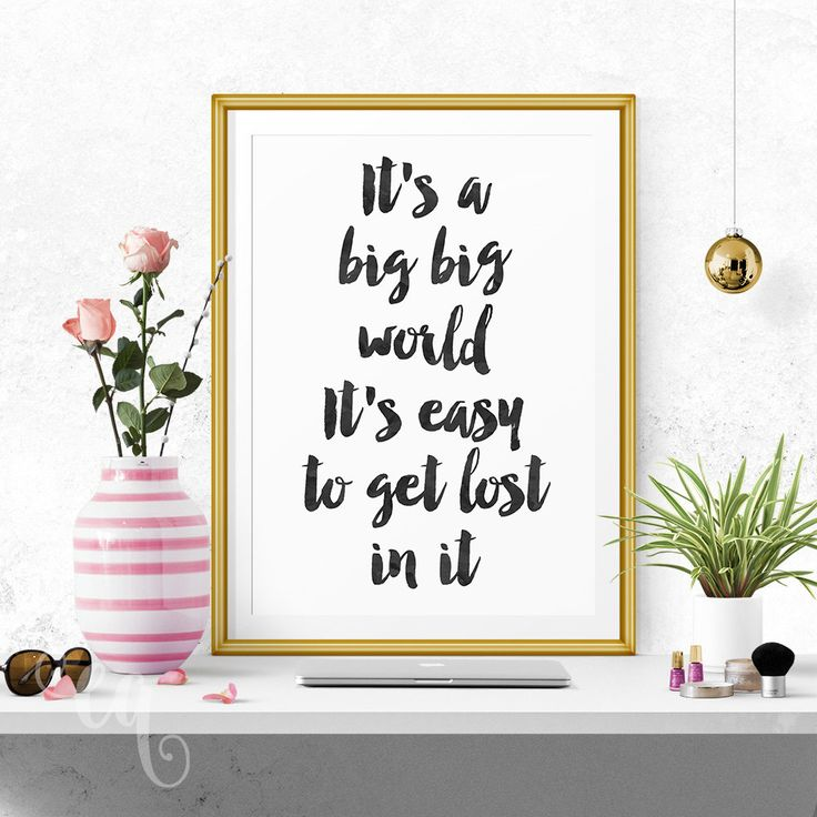 Wall art decor, Justin Bieber quote minimalistic typography poster by ElegantQuotes on Etsy #JustinBieber #WallArt #typography #quote