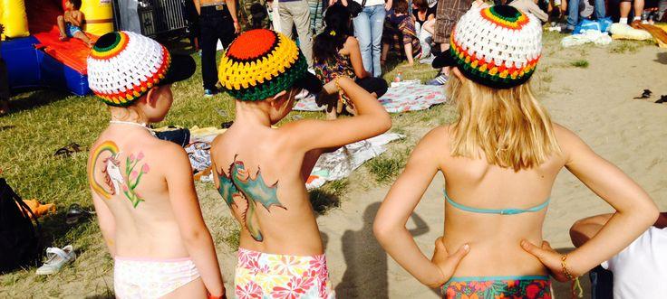 Young reggea fans. At Rastaplas Zoetermeer