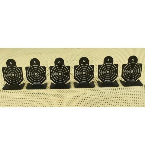 Airsoft Tactical Shooting Metal Target Set 6pcs