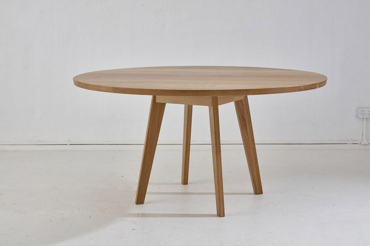 Loughlin Furniture Round Mosley Table Blackbutt Timber