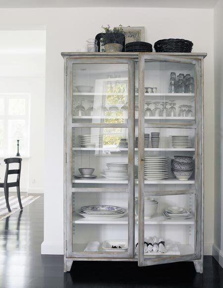 Good Questions: Glass Door Cabinet for Display?
