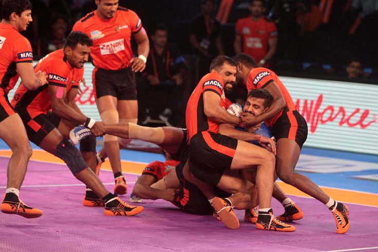 Pro Kabaddi League 2017 Tamil Thalaivas Vs U Mumba Highlights As It Happened - News18 #757Live