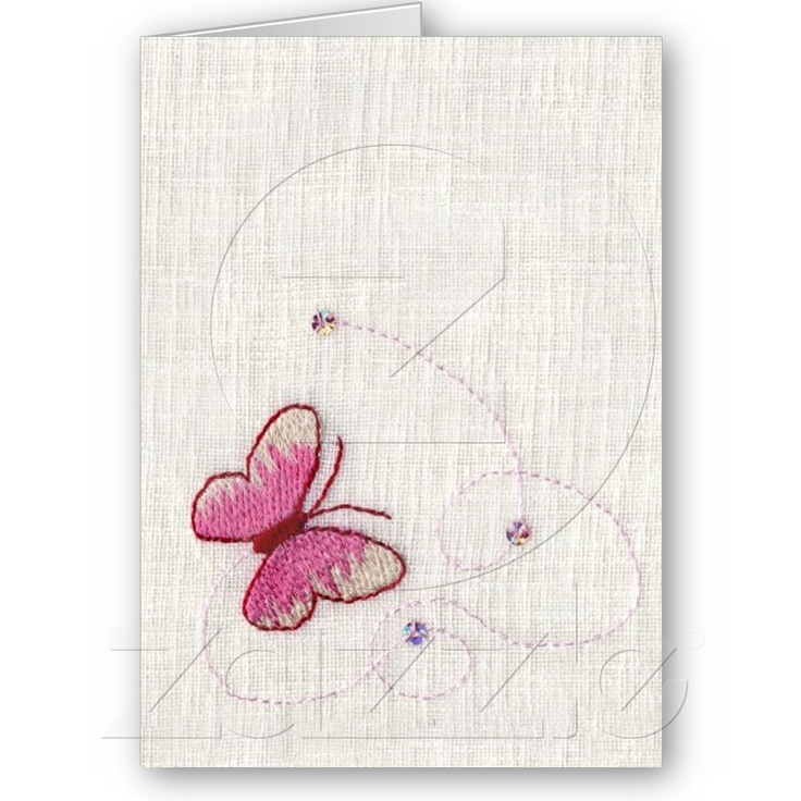 Butterfly Card from Zazzle.com
