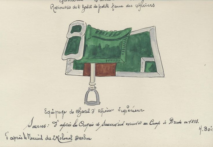Italy; Horse furniture for a senior officer of 3rd Line Infantry