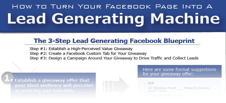 Be a success on Facebook