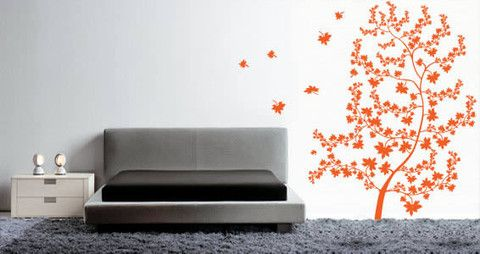 Branches and leafs in the wind give to this maple tree a great look   Visit this link for more designs: https://limelight-vinyl.myshopify.com/