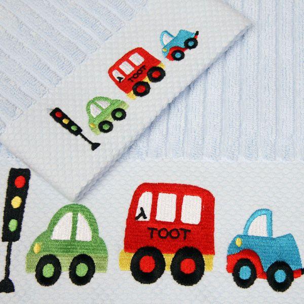Cotton towel gift set | Lucas loves cars
