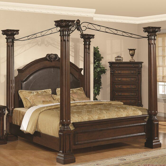 astoria grand canopy bed on Astoria Grand Payne Upholstered Canopy Bed Reviews Wayfair In 2020 Bedroom Furniture Design Bed Furniture