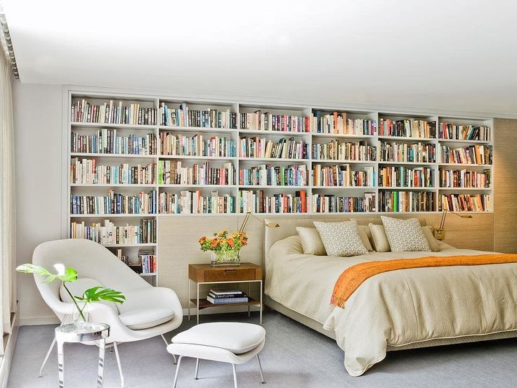 Book Lovers Will Go Mad For These Enchanting Bedroom Libraries. Best 25  Bedroom bookcase ideas on Pinterest   Minimalist