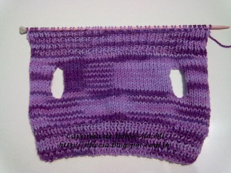 """""""Caixinha de Botões da Oli"""": Blusinha de tricô para cachorrinho - Pincher"""
