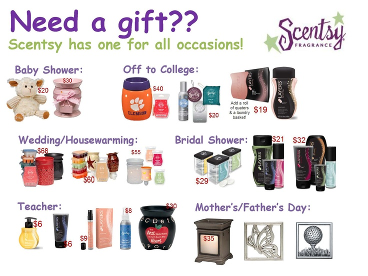 Check out my webpage for more Scentsy product and my