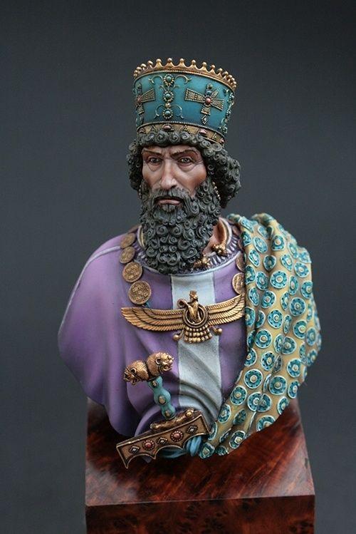Khashayarsha (Xerxes) 480 BC. | Ancient persia, Persian ...