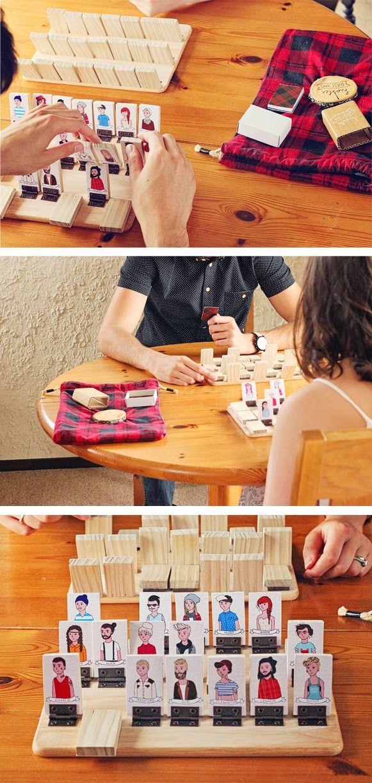 Jeux en bois DIY