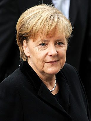 Angela Merkel (1954-Present) Germans chose Angela Merkel as their first female Chancellor because they knew they could rely on her steady hand. Trained as a physicist, Merkel entered politics as a second career after the fall of the Berlin Wall. #CelebratingWomen