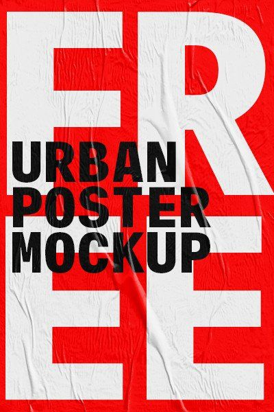 And the urban poster mockup come with dimension 4000x3200 px. Epingle Sur Graphic Design