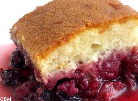 Dans la cuisine de Blanc-manger: Gâteau Jeannette renversé, petits fruits et…
